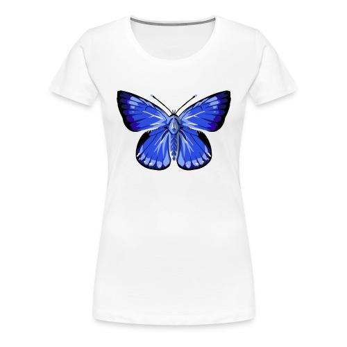vlinder2_d - Vrouwen Premium T-shirt