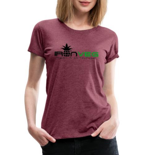 IRONVEG - Maglietta Premium da donna