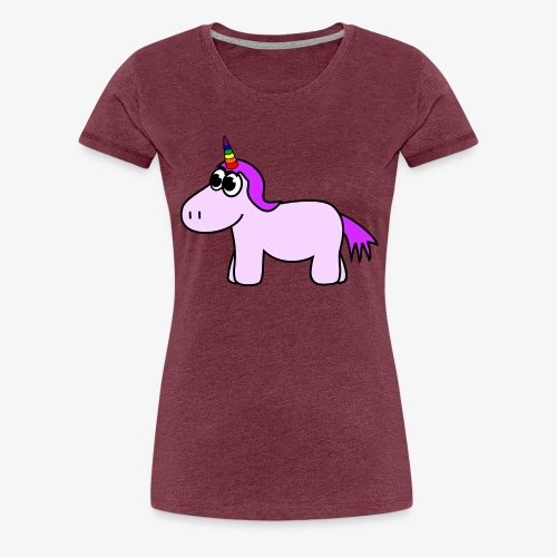 niedliches Einhorn - Frauen Premium T-Shirt