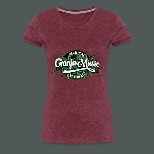 Medical Ganja - Women's Premium T-Shirt