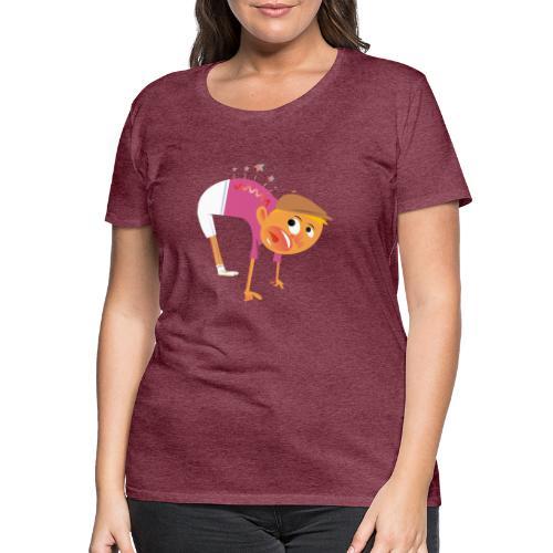 AUA Rücken - Frauen Premium T-Shirt