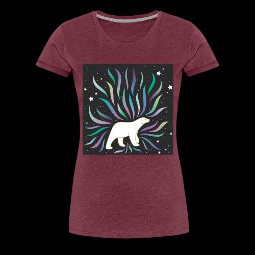 polar ours - T-shirt Premium Femme