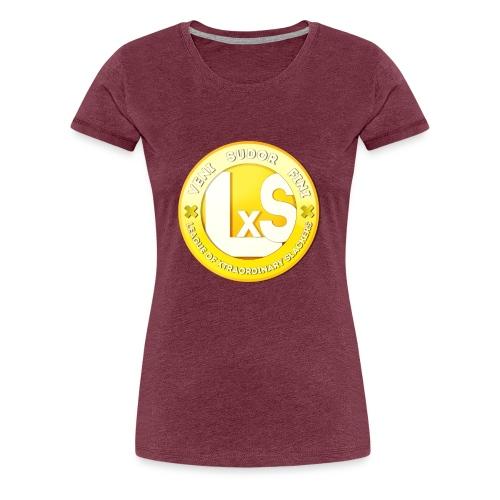 LxS Clan Logo - Premium T-skjorte for kvinner