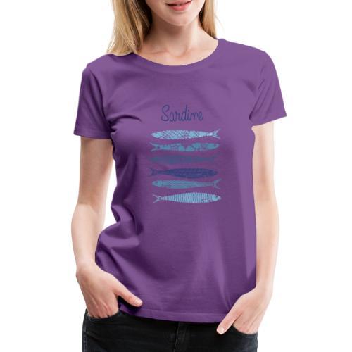 Sardine - Maglietta Premium da donna