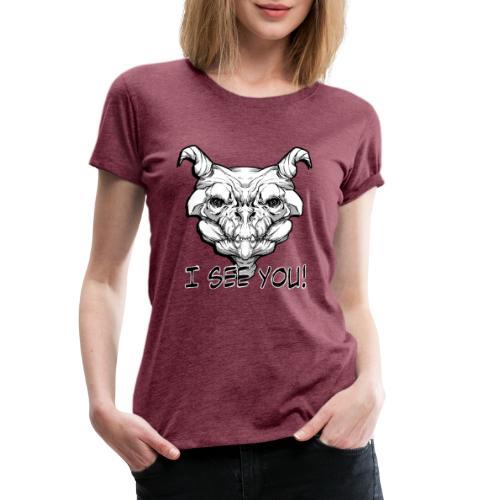 Monstre - T-shirt Premium Femme