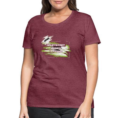 Jena Hauptstadt - Frauen Premium T-Shirt