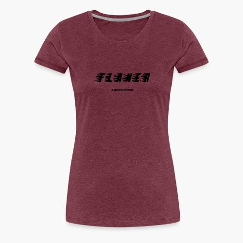 Noir - T-shirt Premium Femme