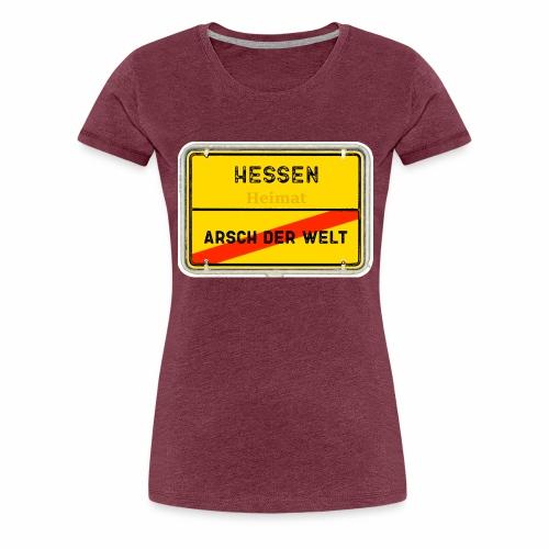 Hessen Heimat - Frauen Premium T-Shirt
