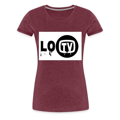 Lo_TV_ - Vrouwen Premium T-shirt