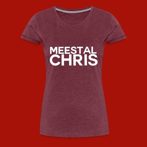 MeestalChris Logo shirt - Vrouwen Premium T-shirt