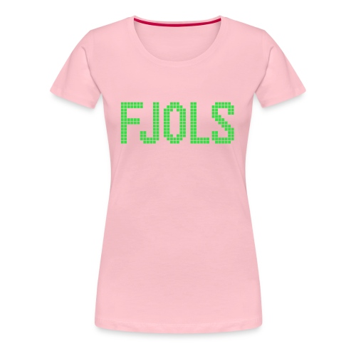 FJOLS Grøn - Dame premium T-shirt