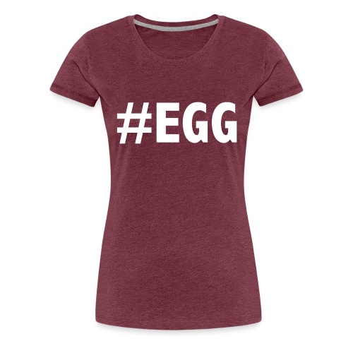 INSTA EGG - Vrouwen Premium T-shirt