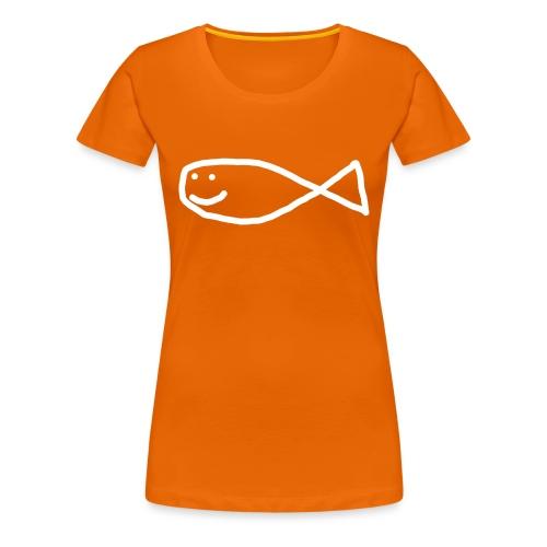 Klassisk Strandfisk T-Shirt - Premium T-skjorte for kvinner