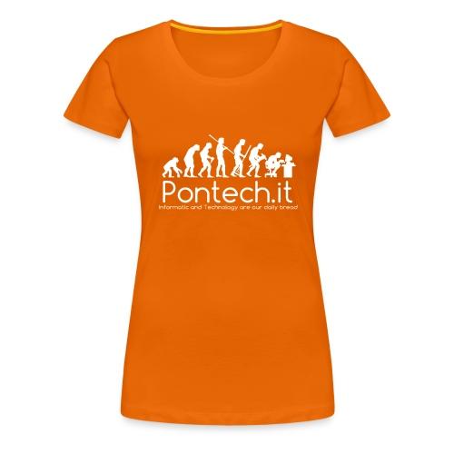 Pontech.it - Maglietta Premium da donna
