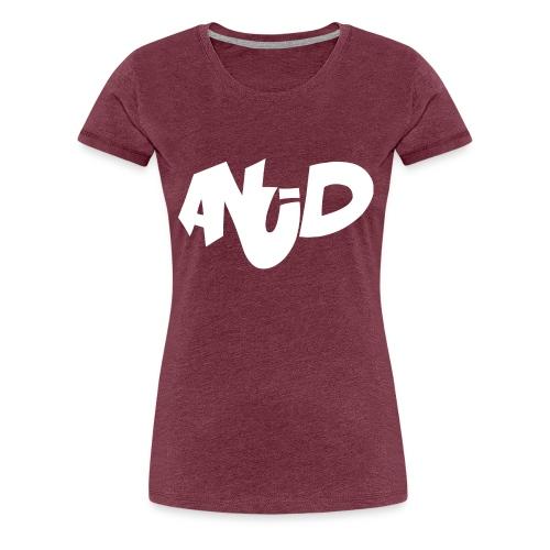 anudlogo2 - Vrouwen Premium T-shirt