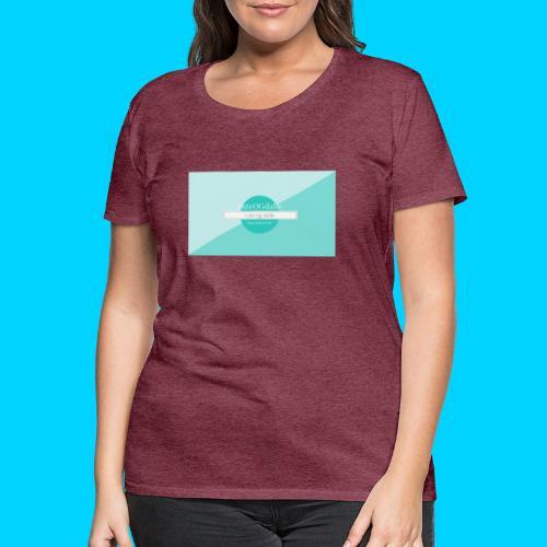 cuteOGdalle - Dame premium T-shirt
