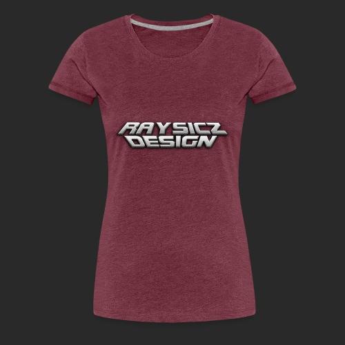 Raysicz Design Metal Schrift - Frauen Premium T-Shirt