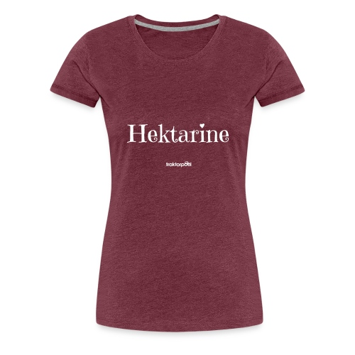 Hektarine - Frauen Premium T-Shirt