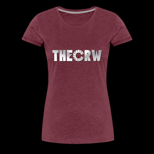 THECRW LOGO - Frauen Premium T-Shirt