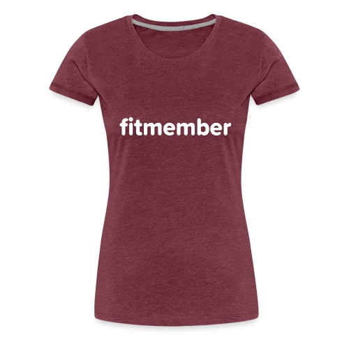 fitmember logo - Frauen Premium T-Shirt