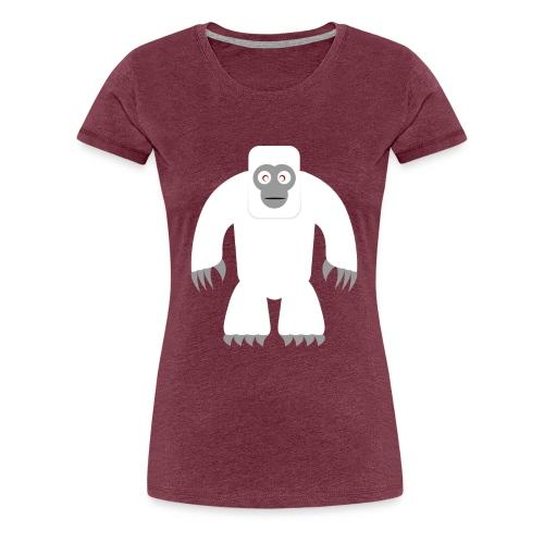 Yeti - Frauen Premium T-Shirt