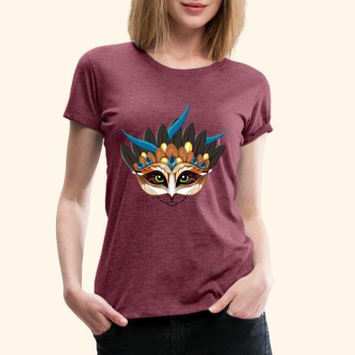 Ein Feuervogelkatzentier - einer wie keiner. - Frauen Premium T-Shirt