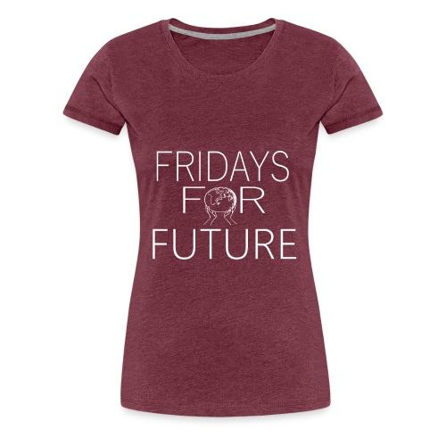Fridays for future - Frauen Premium T-Shirt