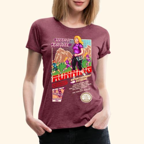 ULTRA TRAIL RUNNING (FAST GIRL) - Maglietta Premium da donna