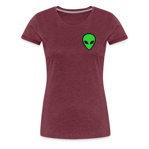 alien face 4 - Maglietta Premium da donna