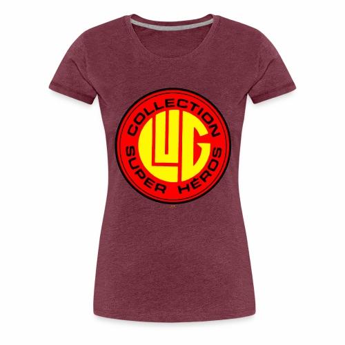 Lug Collection Super Héros - T-shirt Premium Femme