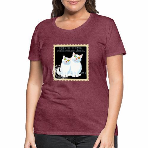 timbre usa - T-shirt Premium Femme