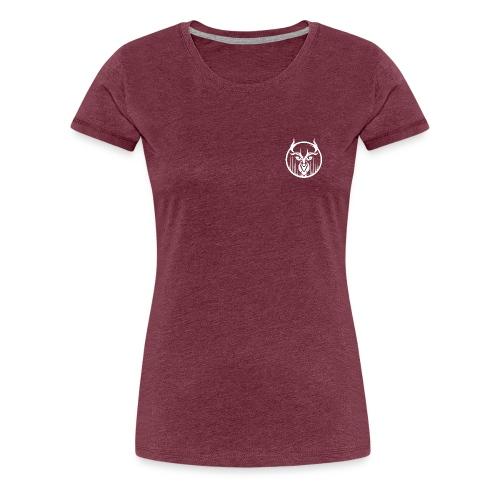 eiktyrne hjort hvit - Premium T-skjorte for kvinner