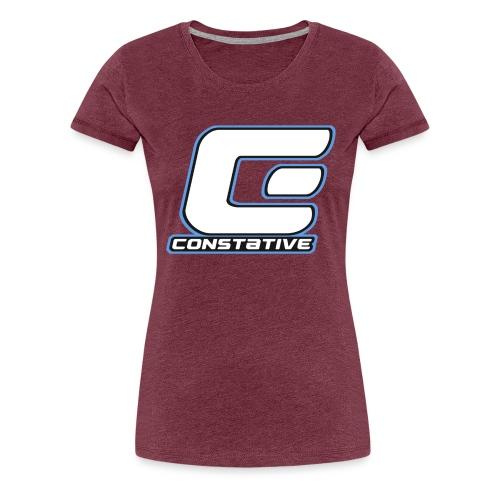 Constative hoodie - Dame premium T-shirt