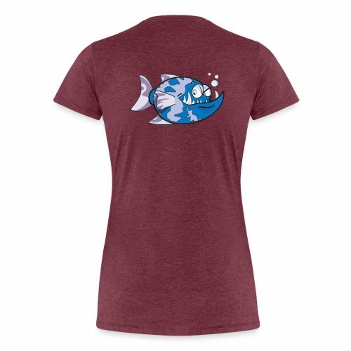 poisson - T-shirt Premium Femme