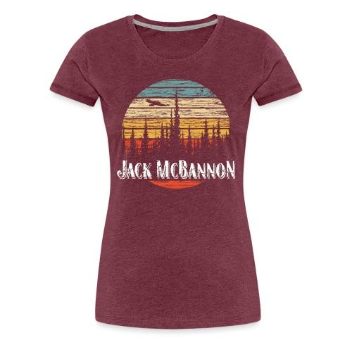 Jack McBannon - Forest Sundown - Frauen Premium T-Shirt