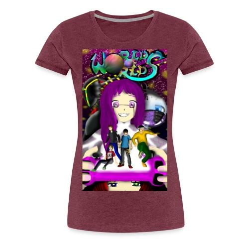 World Of Worlds THE AWAKENING - Camiseta premium mujer