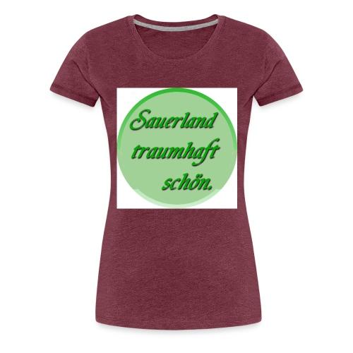Sauerland Brosche - Frauen Premium T-Shirt