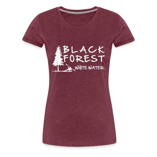 BF_Whitewater_1_grey - Frauen Premium T-Shirt