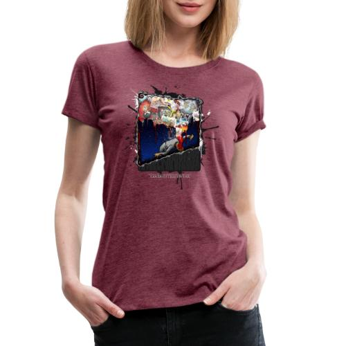 The Knockout - Frauen Premium T-Shirt