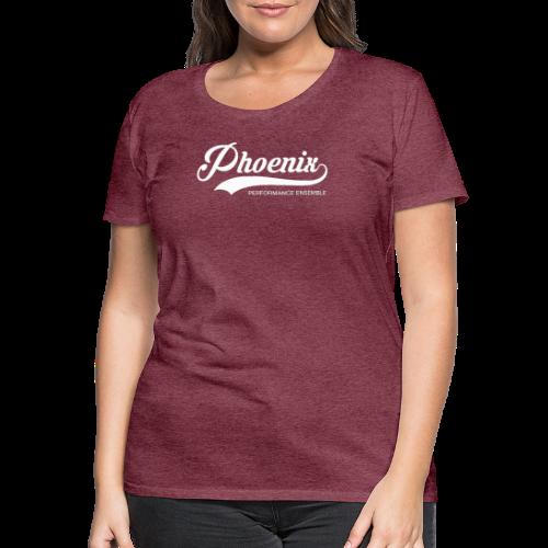 Phoenix Retro White - Frauen Premium T-Shirt