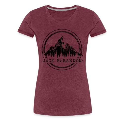 Jack McBannon - Mountain II - Frauen Premium T-Shirt