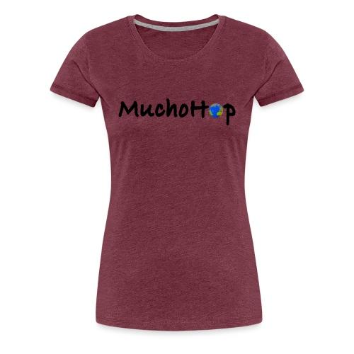 MuchoHop Globe - Camiseta premium mujer