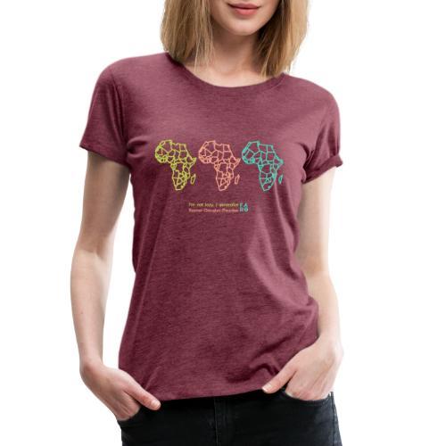 Ramer-Douglas-Peucker Algorithm -Africa - Women's Premium T-Shirt