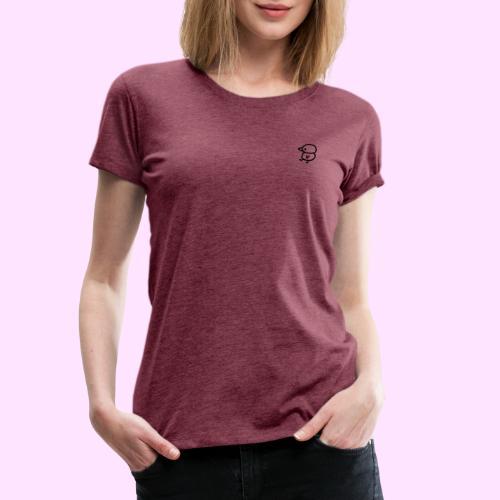 Pinkguin colorless - Dame premium T-shirt