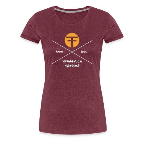 Logo für Shirt Traspa wei - Frauen Premium T-Shirt
