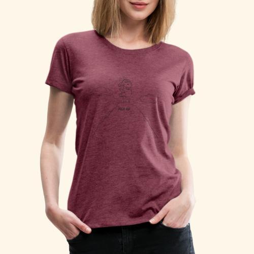 Schafbock: Bock auf ... - schwarz - Frauen Premium T-Shirt