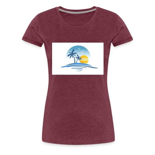 Summer Island - T-shirt Premium Femme