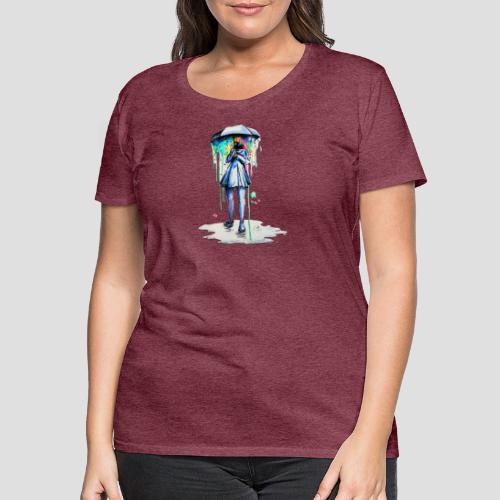 Umbrellagirl - Frauen Premium T-Shirt