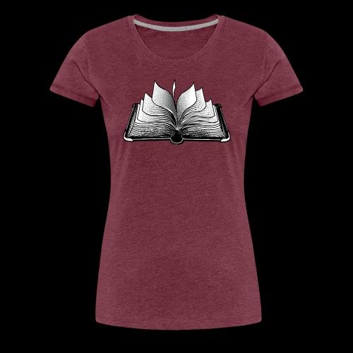 lectura - Camiseta premium mujer