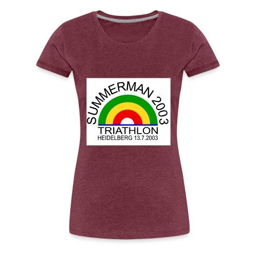 summerman - Frauen Premium T-Shirt